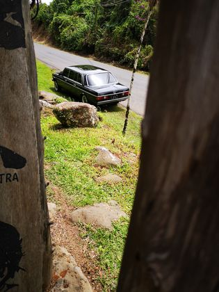 COSTA RICA COUNTRY LIMOUSINE. 300D MERCEDES W123 TOURS