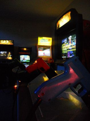 GAMIFICATION IDEAS FOR A COMPANY VIDEO ARCADE GAME ROOM