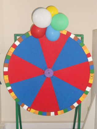 CALL CENTER WHEEL OF FORTUNE